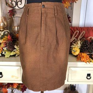 Esprit  women's min brown skirt
